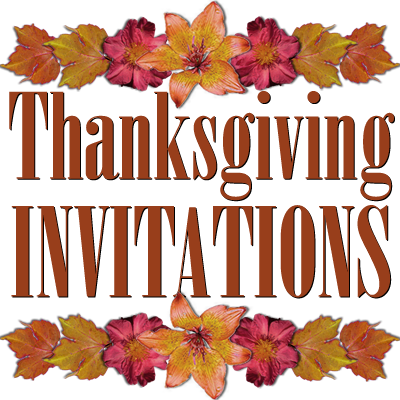 image regarding Printable Thanksgiving Invitations referred to as Free of charge Printable Thanksgiving Invites Templates