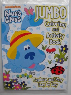 Blue S Clues Coloring And Activity Book 96 Pg Explore And Play Day By Day Heat Sealed In Labeled Sleeve By Bendon Publi Play Day Blues Clues Book Activities