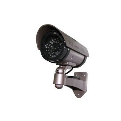Outdoor fakedummy security camera with blinking light color dark outdoor fakedummy security camera with blinking light color dark grey with hues aloadofball Image collections