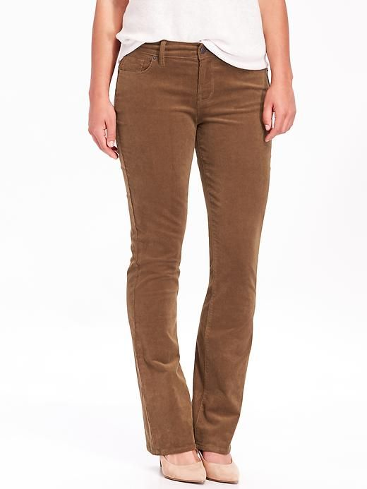 custom discount coupon enjoy big discount Women's Curvy Boot-Cut Cords | My Style | Corduroy pants ...
