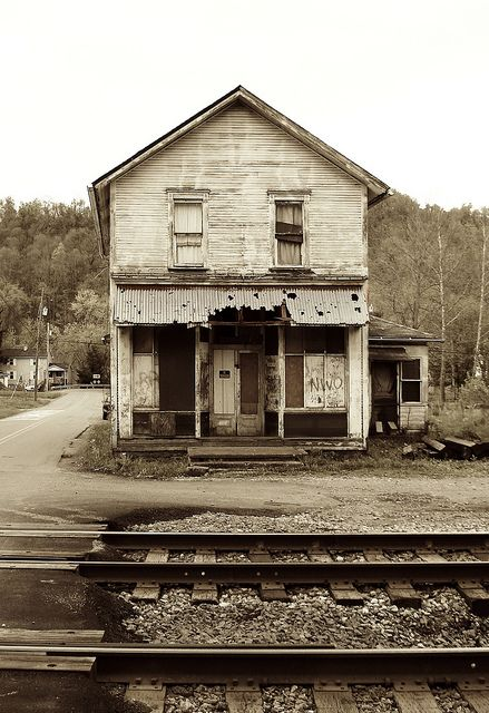 This little storefront in tiny Jacob's Creek, Pa is the only remains of any commercial ventures there. A stone's throw away is an active post office;;; Jacob's Creek Storefront by Equinox27, via Flickr