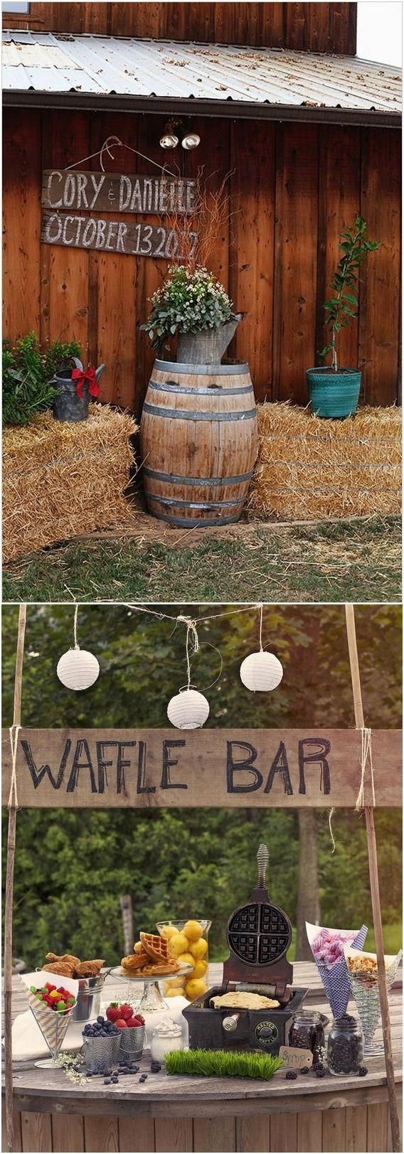 Wedding decorations themes ideas october 2018 Pin by Selinaus Rustic Chic Wedding Ideas on Rustic Wedding