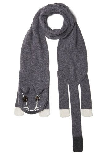 Cozy Critter Scarf, #ModCloth