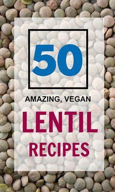 The Garden Grazer: 50 Amazing Vegan Lentil Recipes