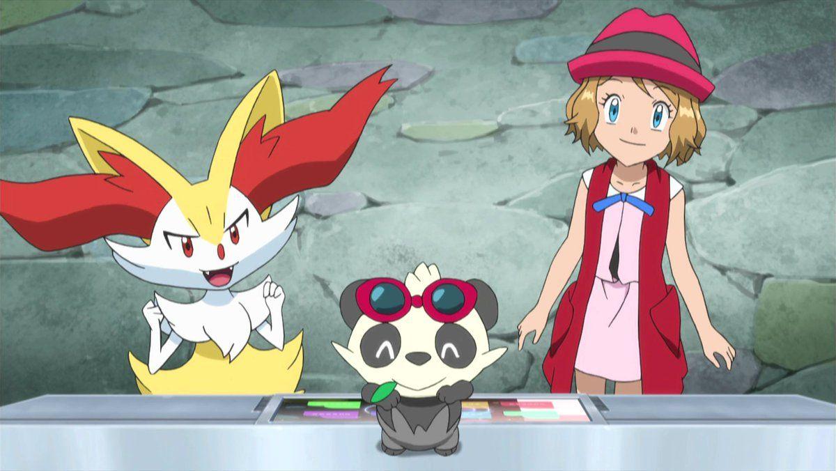 セレナbot (Serena Bot) (@serena_pokeXY) | Twitter | Pokemon ash and serena, Pokemon