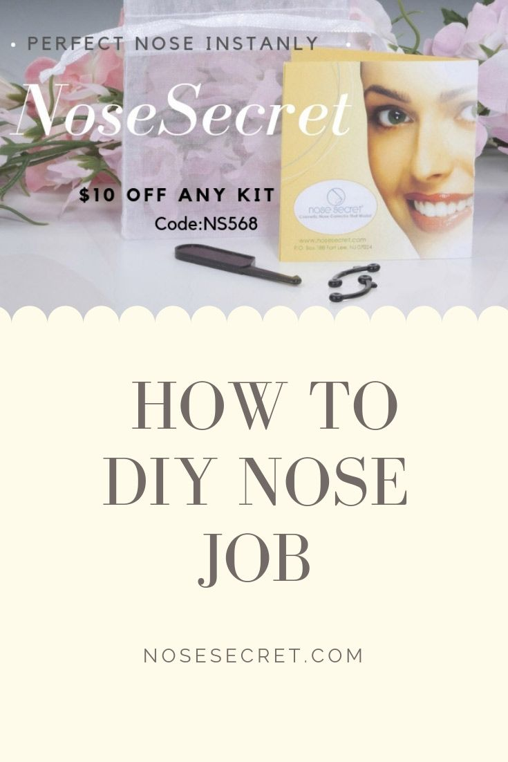 Diy nose job easy and affordable nose job nose college