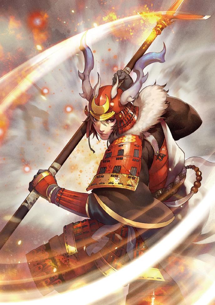 Yukimura Sanada Samurai warrior, Samurai artwork