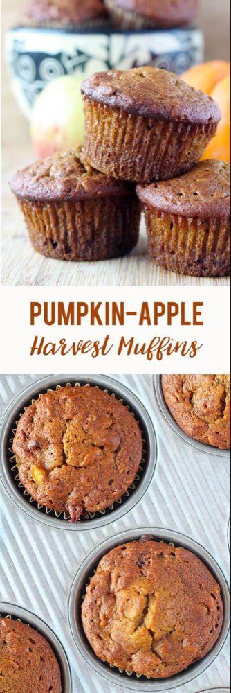 Pumpkin Apple Harvest Muffins (VIDEO)