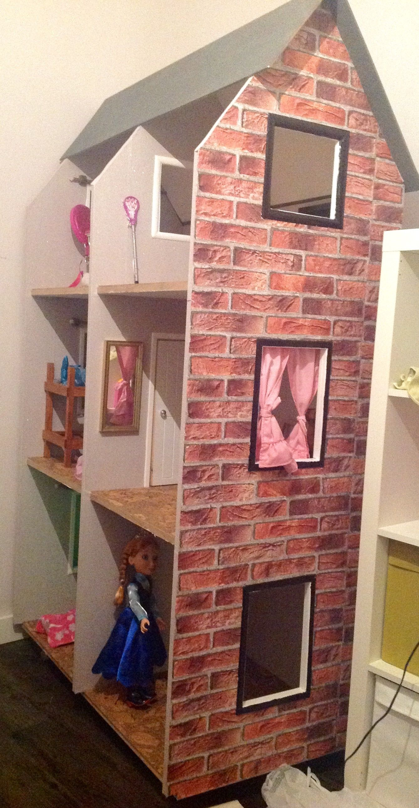 Do Yourself Home Improvement Project American Girl Dollhouse Do It Yourself Home Projects