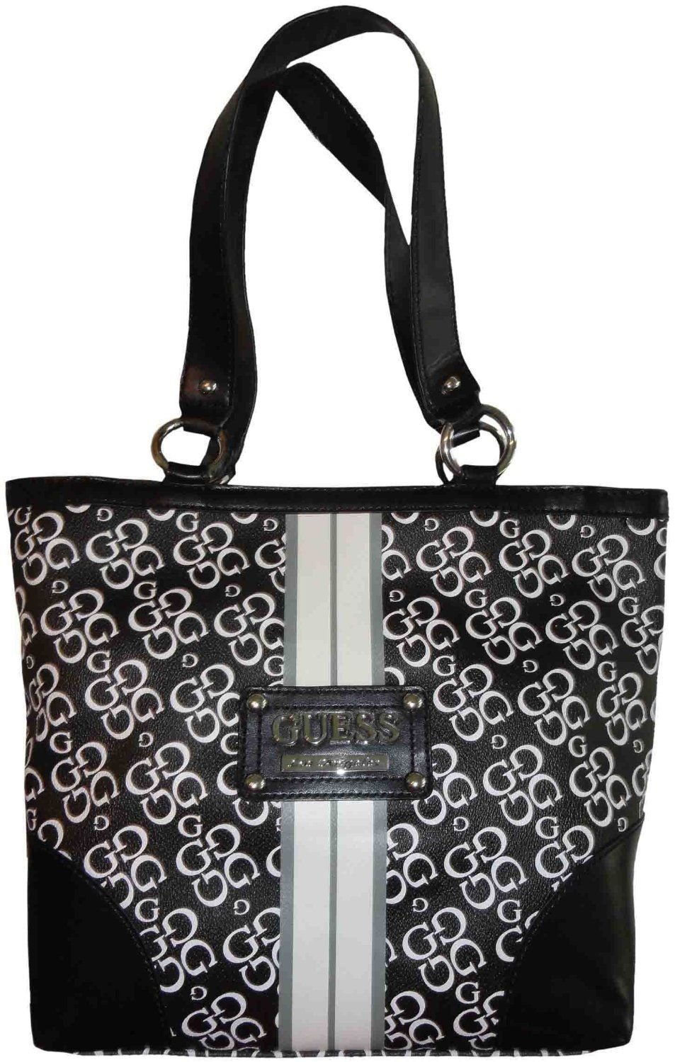 VIDA Tote Bag - SILVER HEARTS by VIDA
