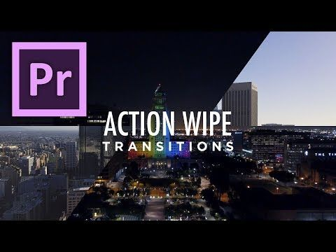 Action Wipe Transitions Preset Tutorial for Premiere Pro by