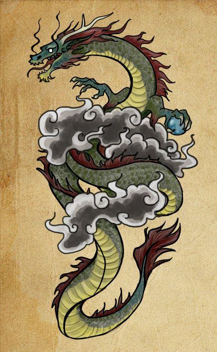 Korean Dragon Tattoo Meaning: Dragon Tattoo Designs, Chinese
