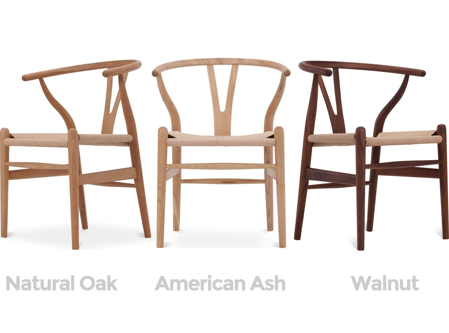 This Is A Platinum Quality Reproduction Of Hans Wegneru0027s 1950 Wishbone Chair  (or U0027Y Chairu0027). Hand Carved From A Choice Of Genuine American Ash, ...