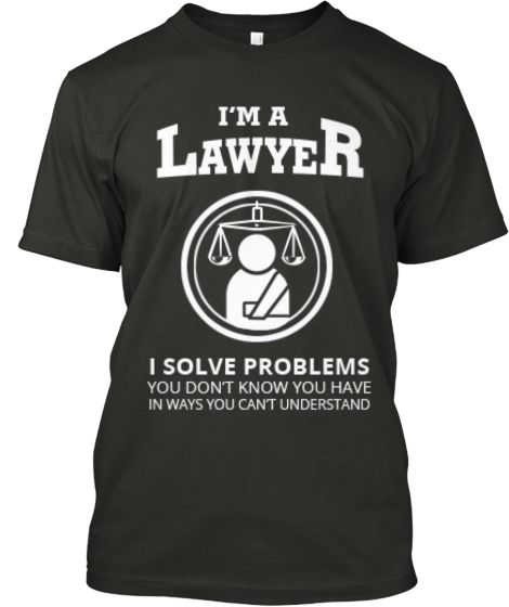 Limited Edition Lawyer Tee! Teespring (With images