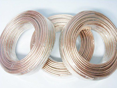12 Gauge 150 Feet 50 Foot Spools Spool of OFC Speaker Wire * Want additional info? Click on the image. #HomeAudio