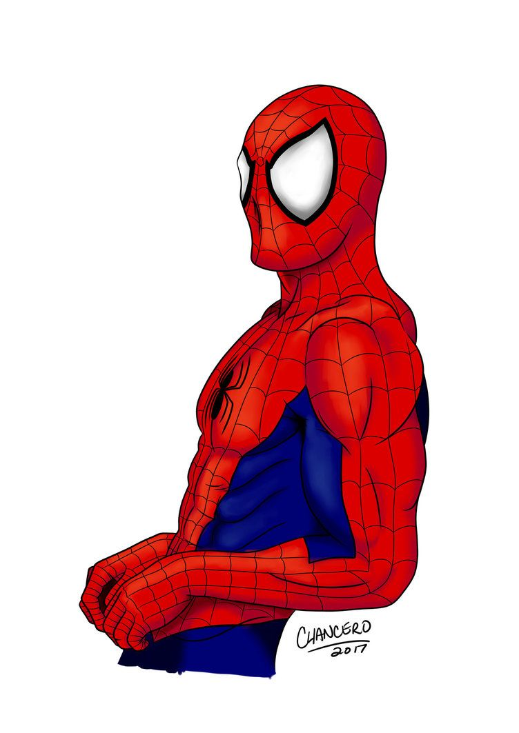 Spider Man Fan Art Spider Man Full Color By Chancero Awesomeness Aaa