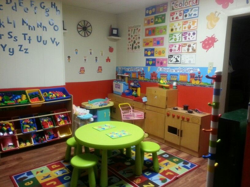 Home daycare room | Stuff to Try | Pinterest | Daycare rooms, Room ...