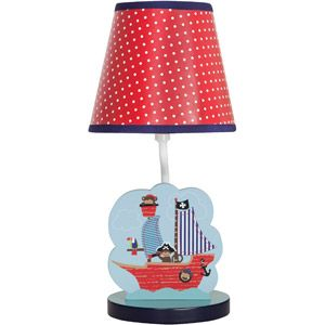 Bedtime Originals Treasure Island Lamp Blue