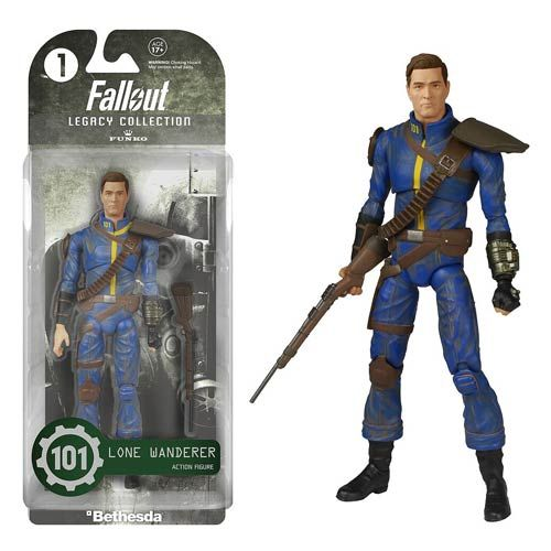Toy Game Store In Lone Tree: Fallout Lone Wanderer Legacy Collection Action Figure