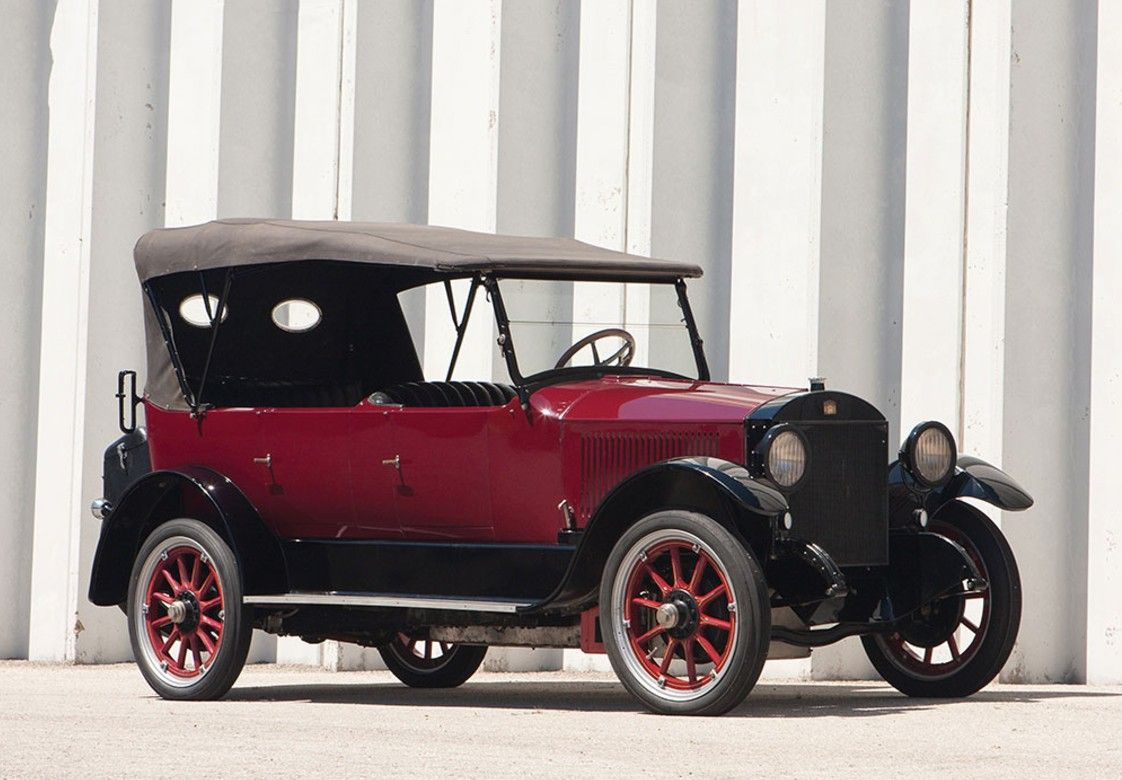 1922 Stanley Model 735B Touring - Stanley\'s first car went on sale ...