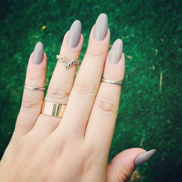 Uñas almendra | uñas decoradas ;) | Pinterest | Almendras, Uña ...