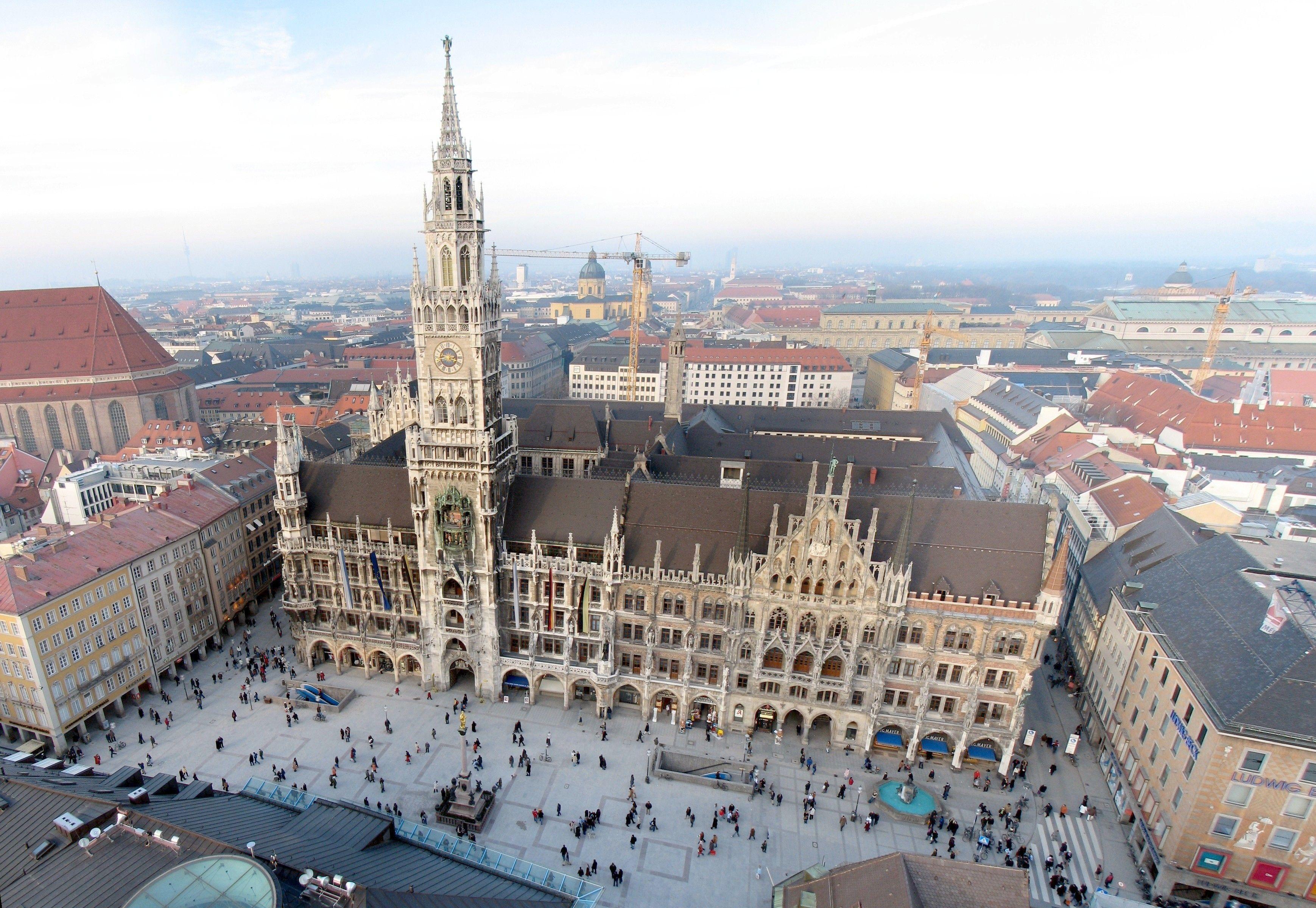 Marienplatz | Visit munich, Places to visit, Places to travel