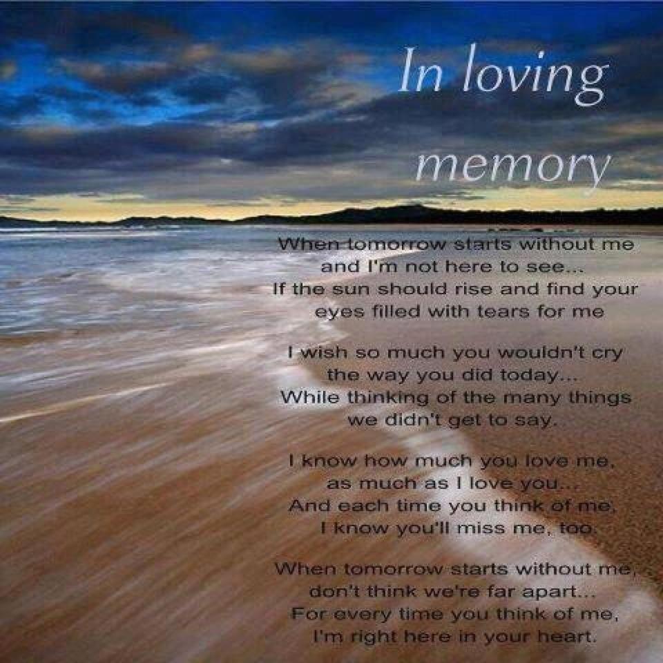 Memories to Cherish In Loving Memory funeral