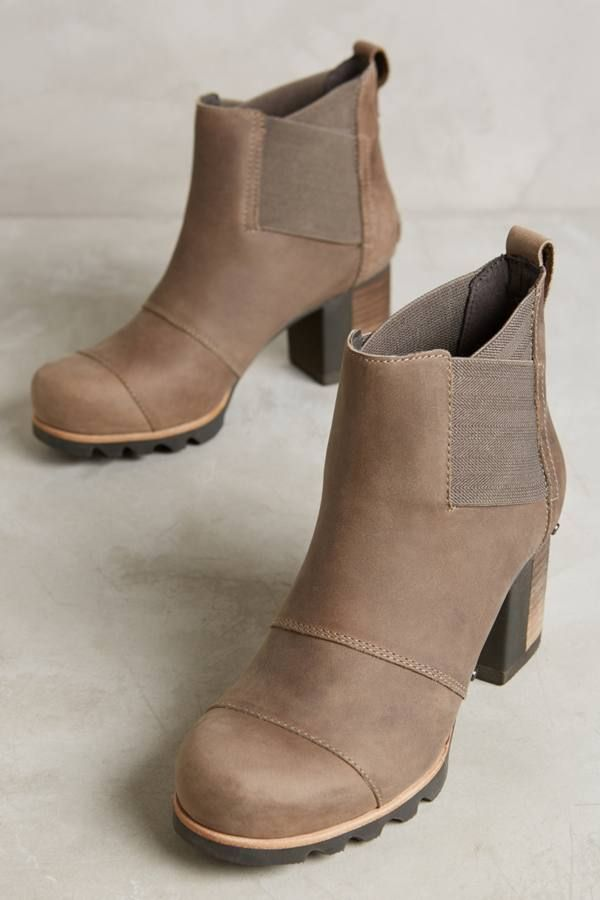 Sorel Addington Heeled Chelsea Boots