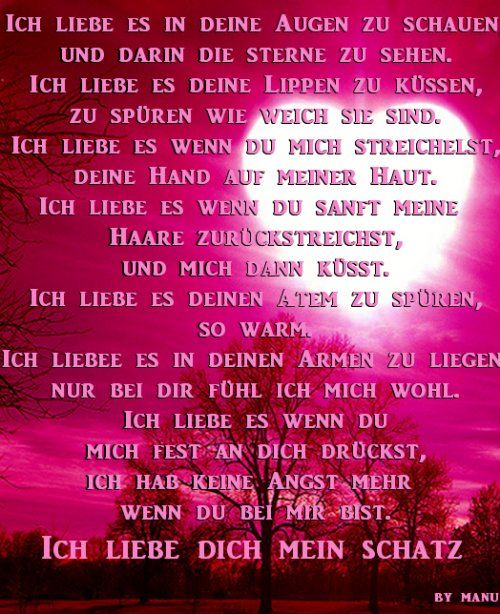 Liebes texte süsse Liebestexte: 147+