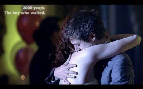 "Doctor Who ""The Big Bang"" (5x13)- Rory Williams, the Last Centurion and Amelia Pond, the girl Who waited #ArthurDarvill #KarenGillan #wedding"