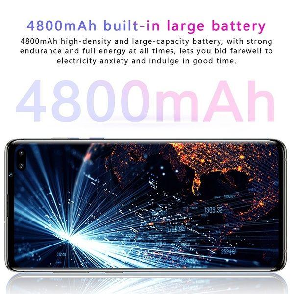 6.5 Inch S10 Smartphone Face/Fingerprint Unlock 6GB+128GB