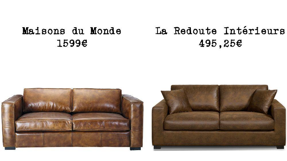 Le Même En Moins Cher Un Canapé Convertible Lofts And Salons - Canape cuir pas cher