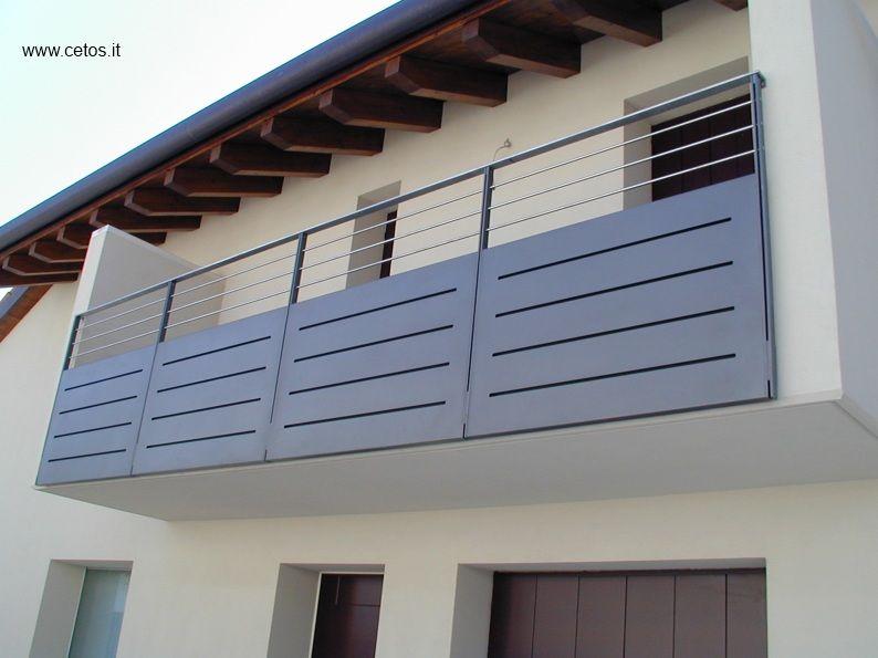 Parapetto per terrazze in ferro e acciaio inox | home ideas ...