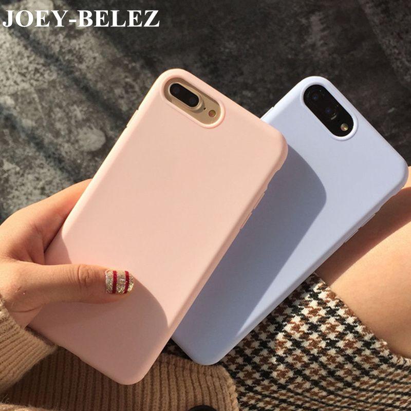Bella Caramella di Colore Rosa Cover per iPhone 7 più la cassa ...