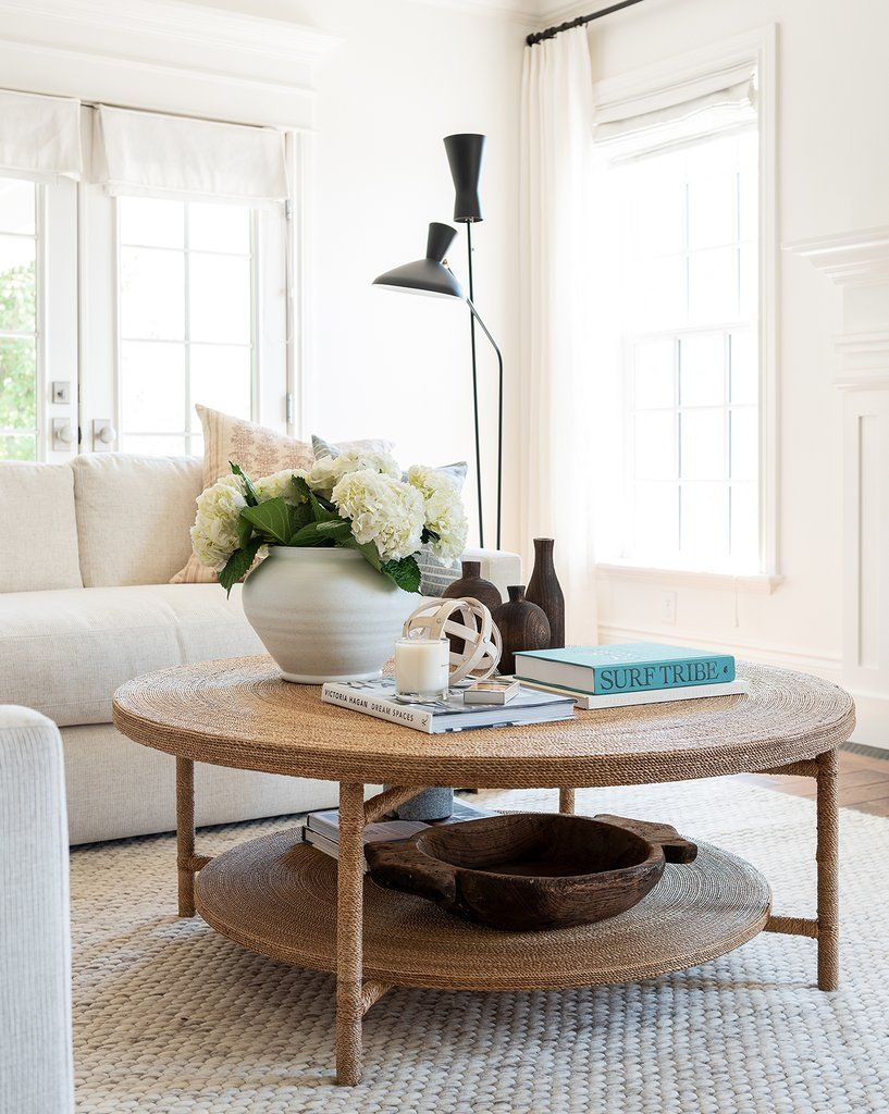 Leah Coffee Table Round Coffee Table Decor Round Coffee Table Living Room Round Coffee Table Styling [ 1024 x 817 Pixel ]