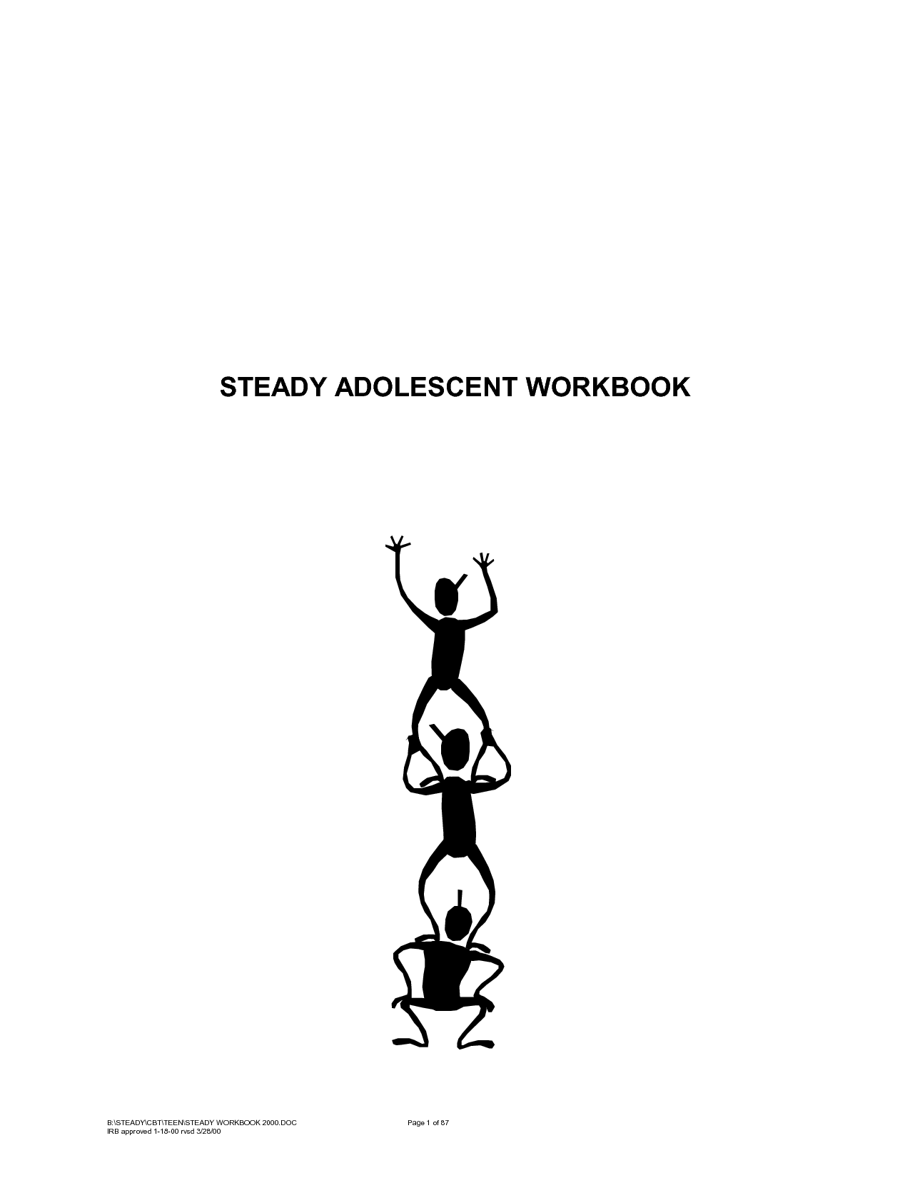 Adolescent Workbook Daily Mood And Activity Diary