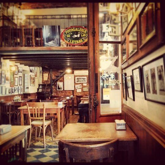 La Poesía in Ciudad de Buenos Aires.  Nice place for a beer and ham&cheese platter.