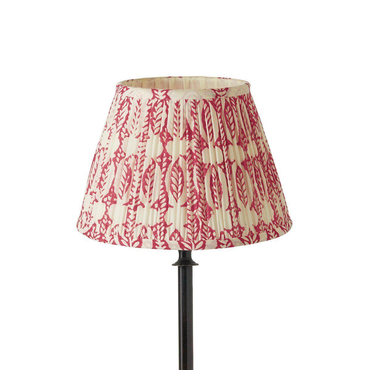 25cm Pleated Daun Cotton Lampshade Lamp Shades Old
