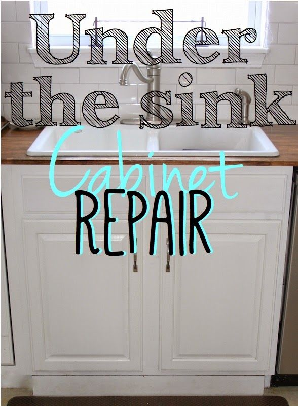 Replace Sink Cabinet Floor Sink Hole Prevention Under Kitchen Sinks Sink Cabinet Cabinet Repair