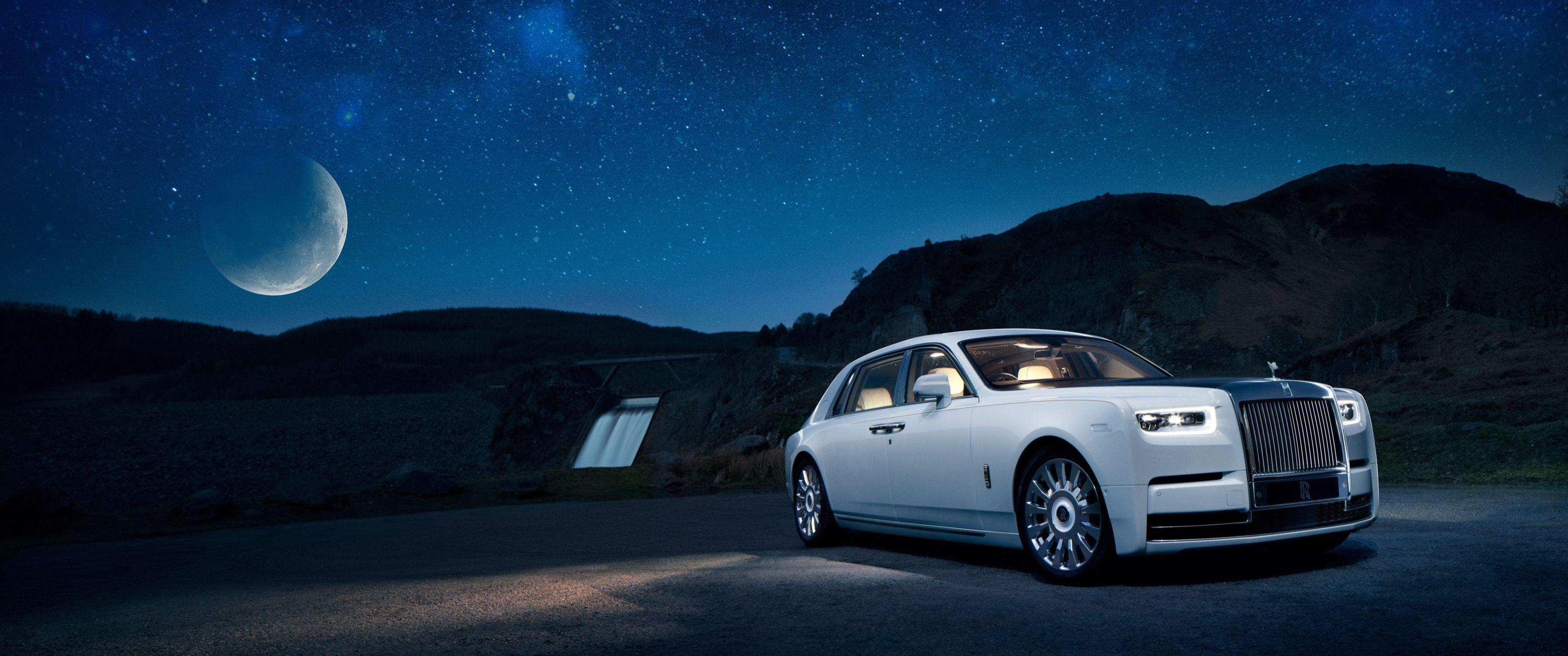 Wallpaper 3440x1440 Rolls Rolls Royce Phantom Rolls Royce Royce