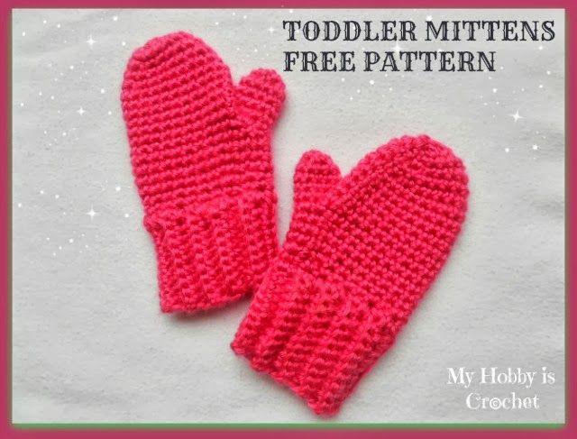 Crochet Toddler Mittens Ceyla Free Pattern With Tutorial Crochet
