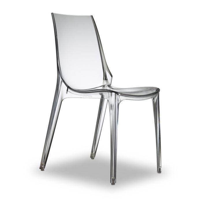 Chaise Chaise Transparente Design Vanity Transparent Chaise