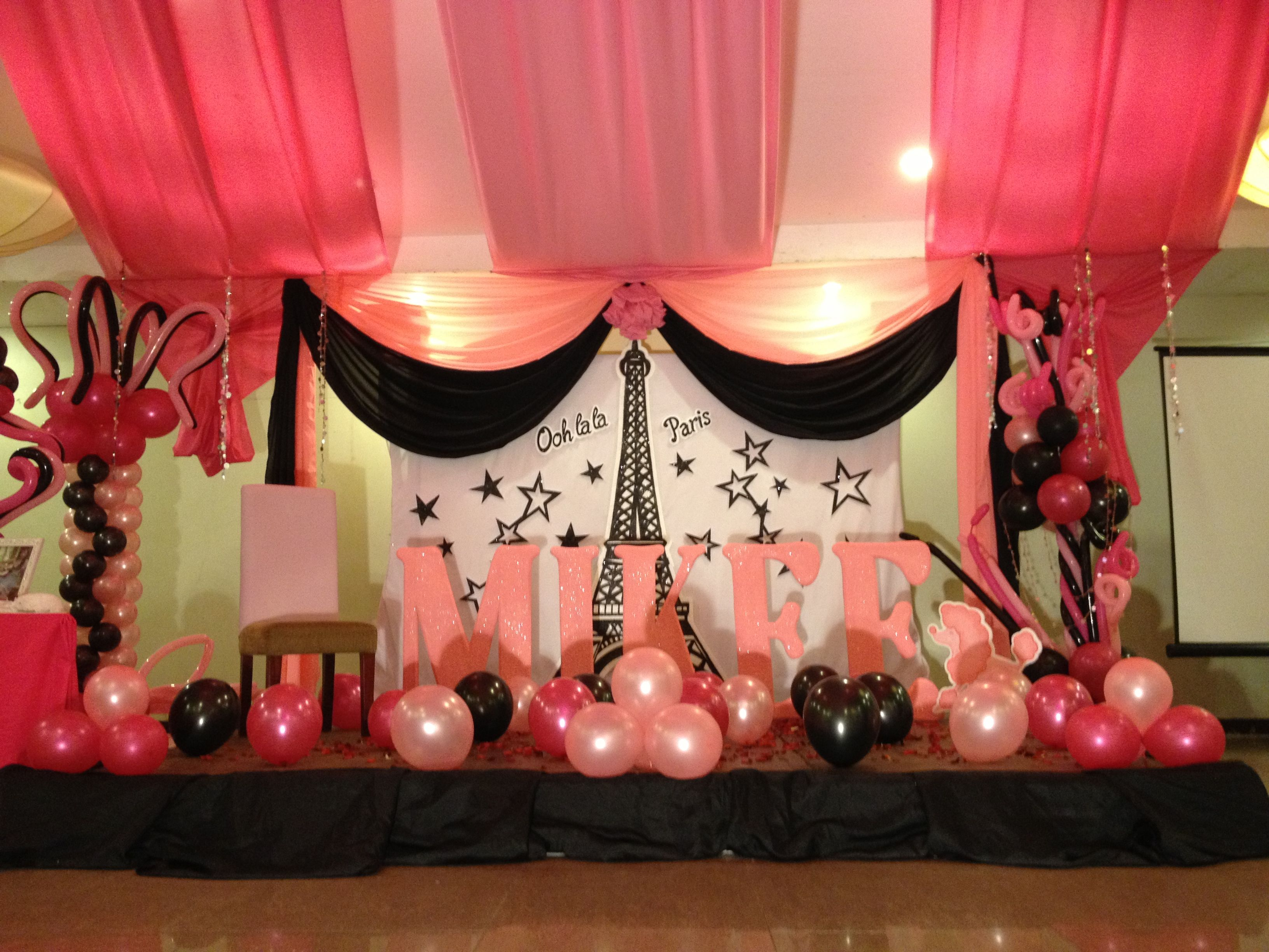Best 25 debut decorations ideas on pinterest 18th debut for 18th birthday decoration