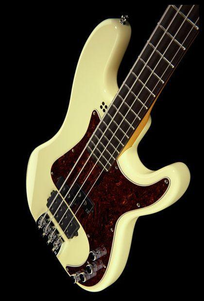 Sandberg California Vm4 Bass Guitar Colour High Gloss Creme Sandberg Bass Thomann Con Imagenes Instrumentos Bajos Guitarras