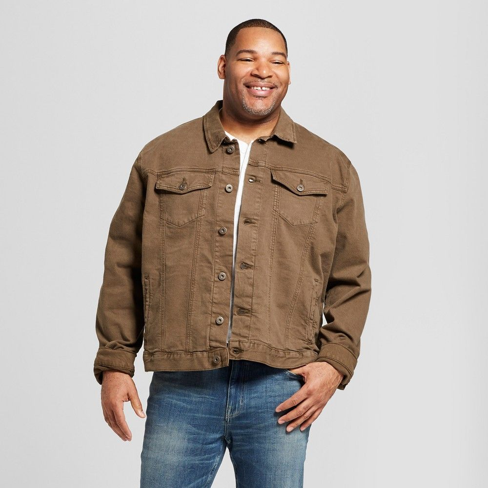 This Trucker Denim Jacket Tavex Dynasty Kluber Without Sherpa Lining From Goodfellow And Co Is The Perfect Finishing Tou Jackets Denim Jacket Mens Big And Tall [ 1000 x 1000 Pixel ]