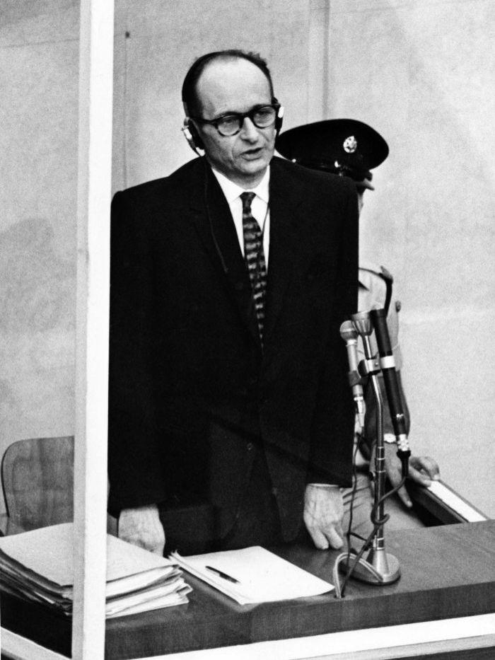 Adolf Eichmann testifies at trial in Jerusalem | Adolf Eichmann