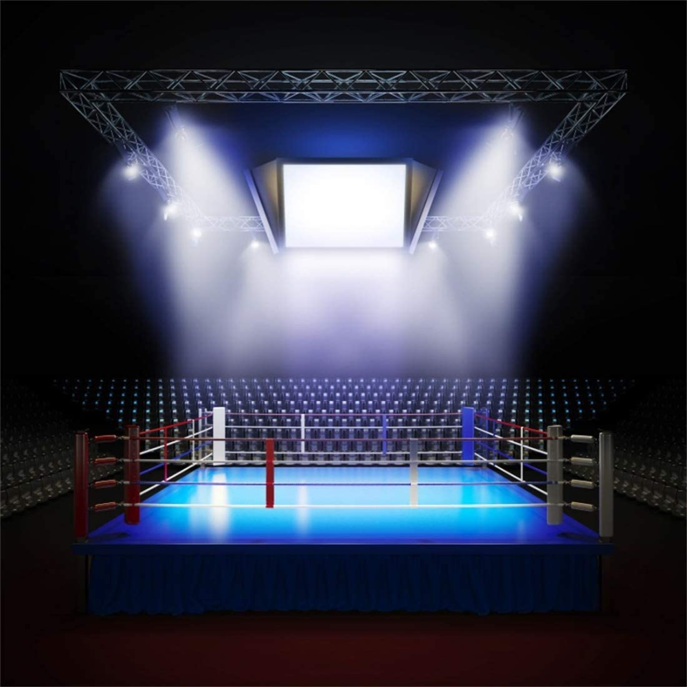 Boxing Ring Lighting Film Google Search Professional Boxing Boxing Fight Video Marketing