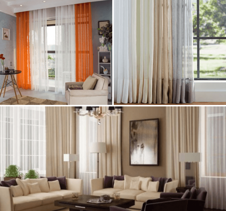 7 Ways To Hang Sheer Curtains Curtains Sheer Curtains Wooden