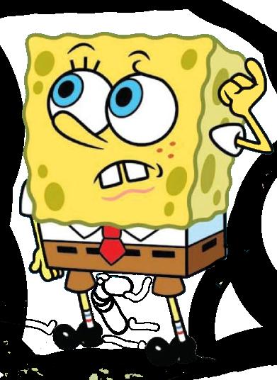 Spongebob Confused Spongebob Cartoon Clip Art Picture Icon