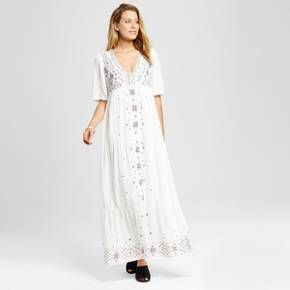 Target white maxi dress